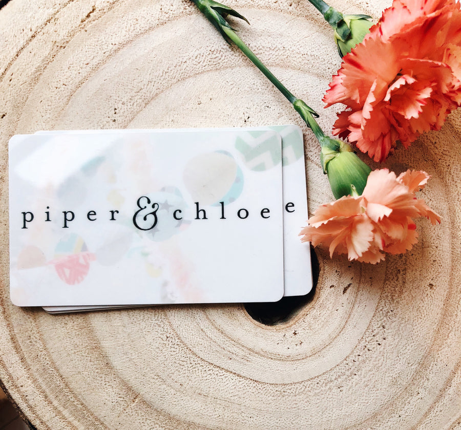 gift card - Piper & Chloe
