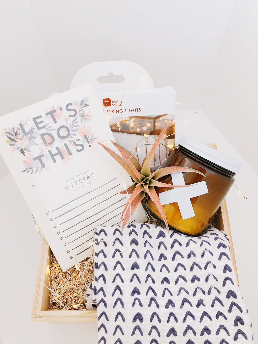 welcome home gift box - Piper & Chloe