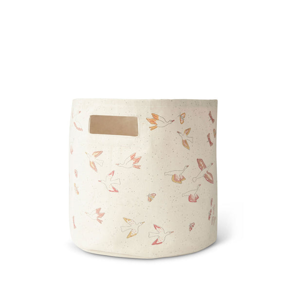 canvas bin in birds of a feather