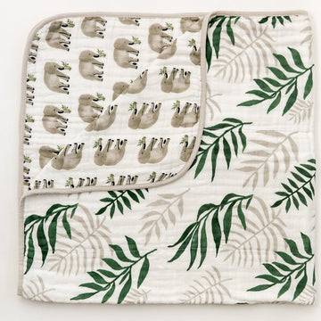 quilt in jungle fern - Piper & Chloe