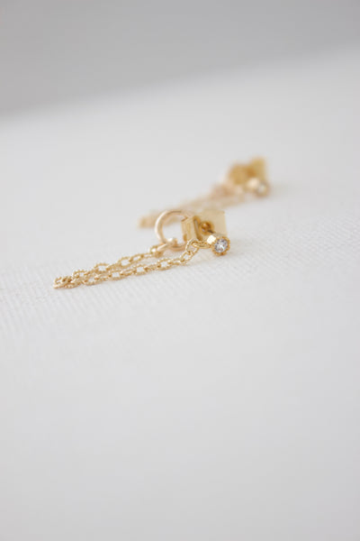 earrings chain loop