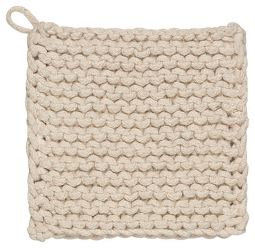 parker potholder in natural - Piper & Chloe