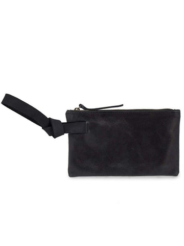 rachel wristlet in black - Piper & Chloe