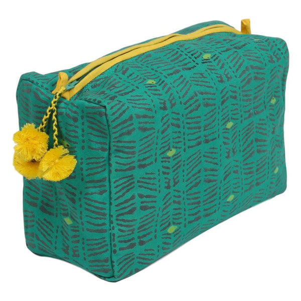 toiletry bag - moshi emerald
