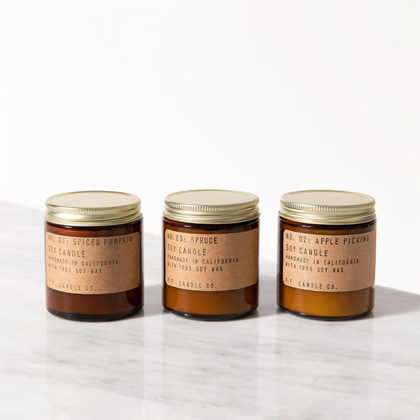 pf candle - seasonal classics mini set