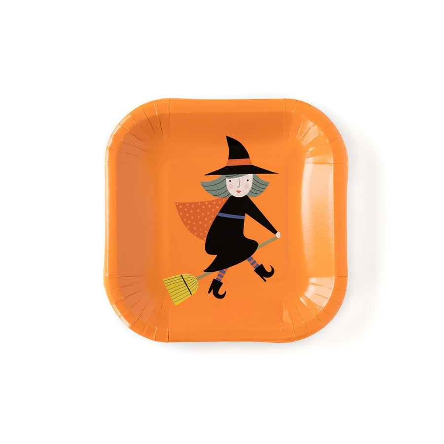 halloween witch plate - Piper & Chloe