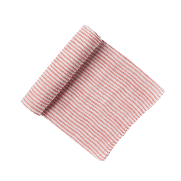swaddle in pink stripe
