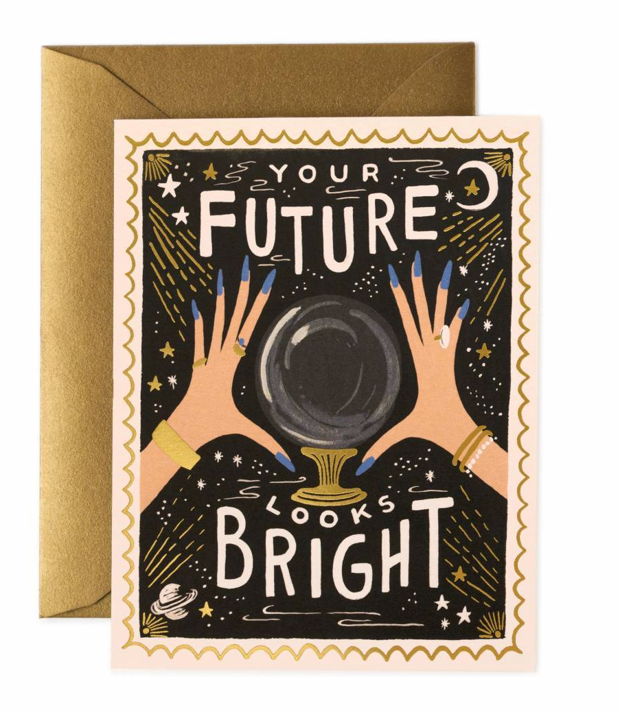greeting card - your future looks bright - Piper & Chloe
