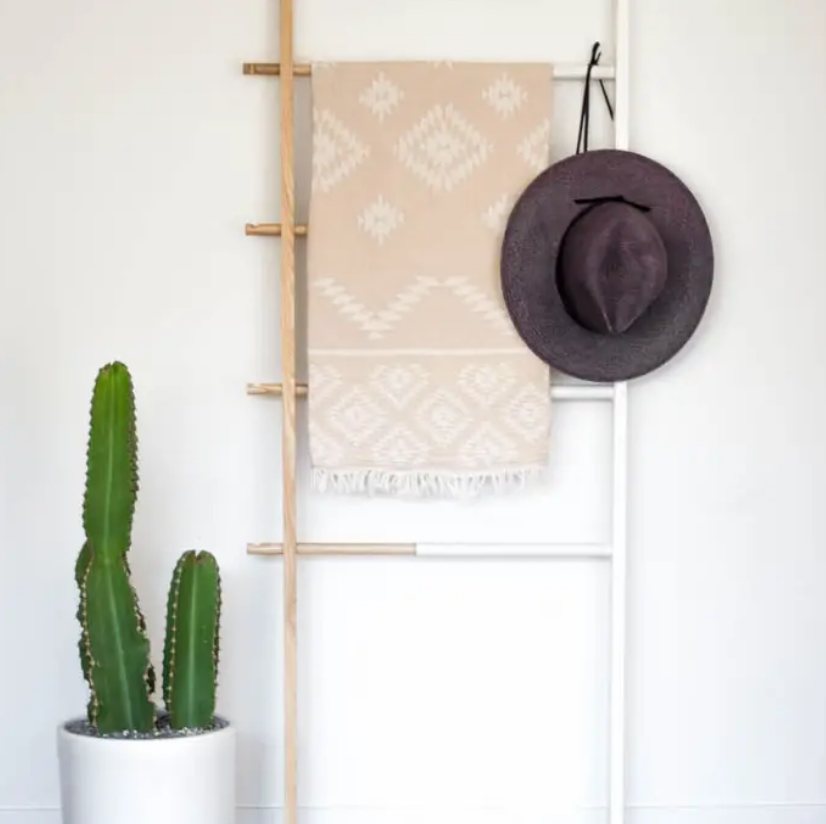 turkish towel in tribal pattern - Piper & Chloe