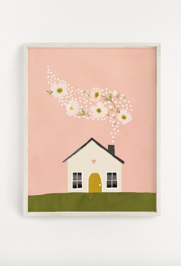 art print - home sweet home - Piper & Chloe
