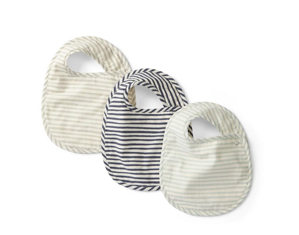 stripes away bib set in sea