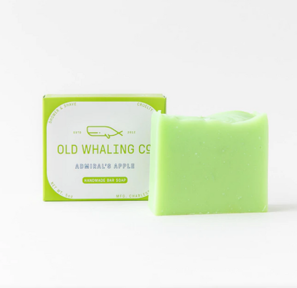 bar soap in admiral's apple