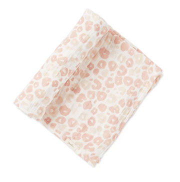 swaddle in poppy blush - Piper & Chloe