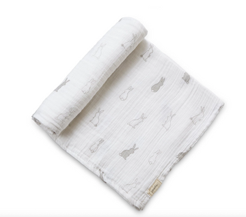 swaddle in bunny hop - Piper & Chloe