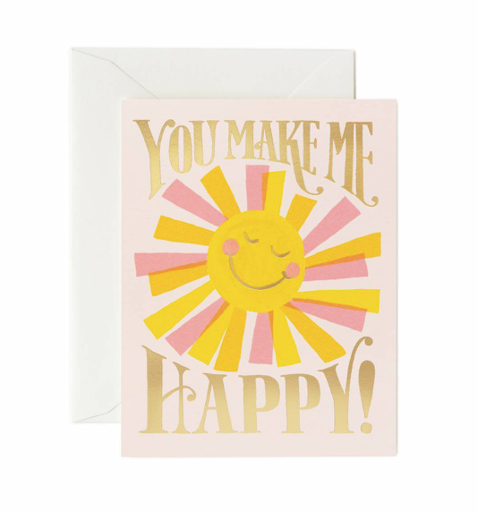 card set in you make me happy