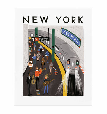 new york world traveler print - Piper & Chloe