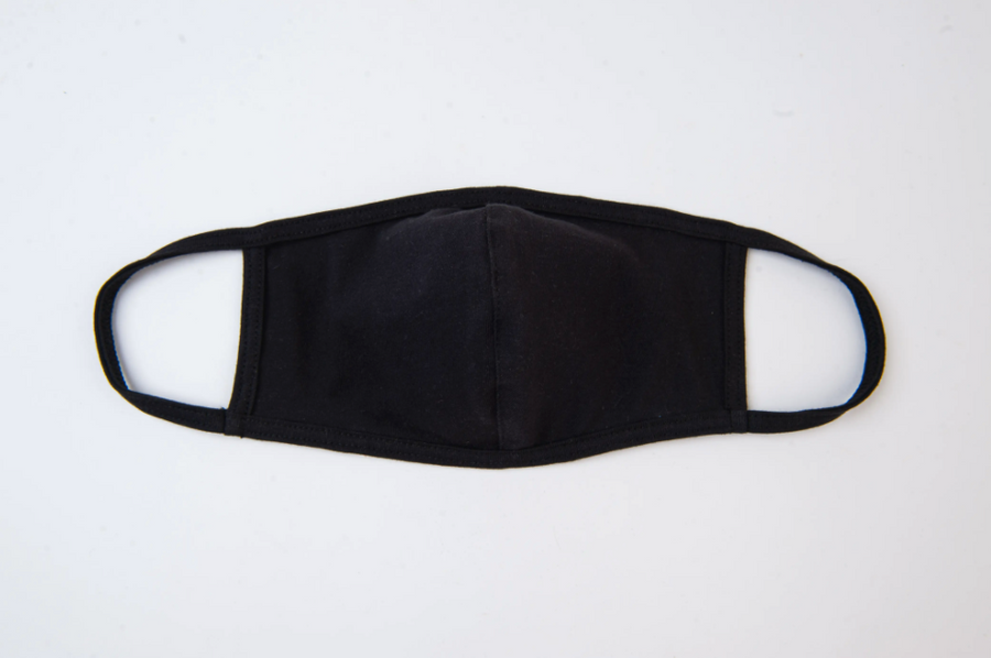 cloth face mask in black - Piper & Chloe