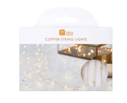 copper string lights - Piper & Chloe