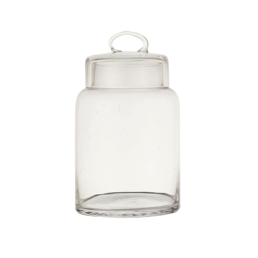 glass container with lid - Piper & Chloe