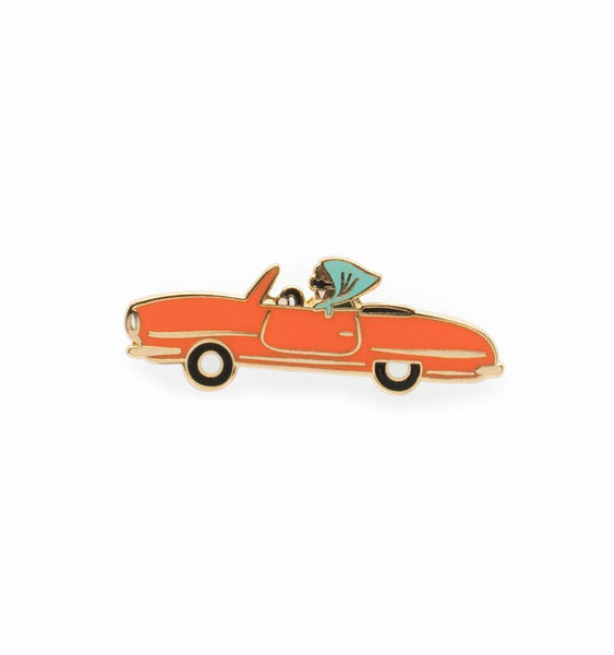 enamel car pin