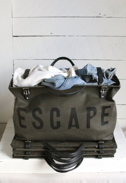 escape bag in olive