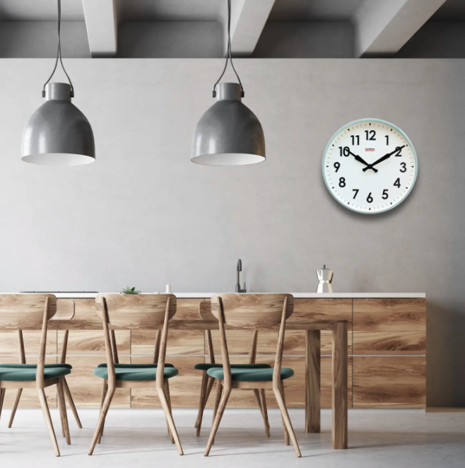 factory clock in sage - Piper & Chloe