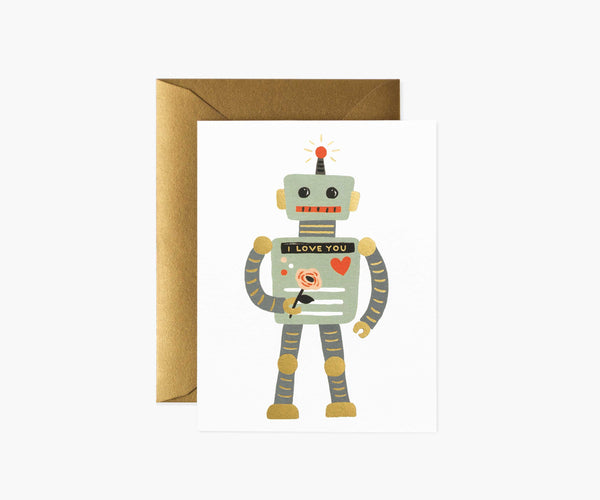 card set in love robot