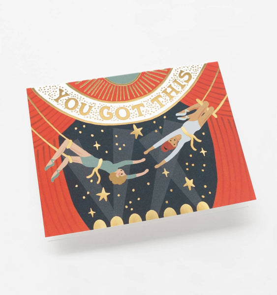 greeting card - you got this