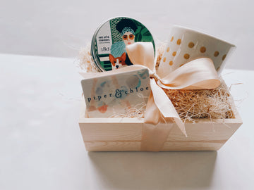 virtual sip & shop gift box - Piper & Chloe