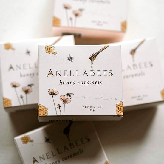 Anellabees Honey Caramels Box of 12 | Piper & Chloe
