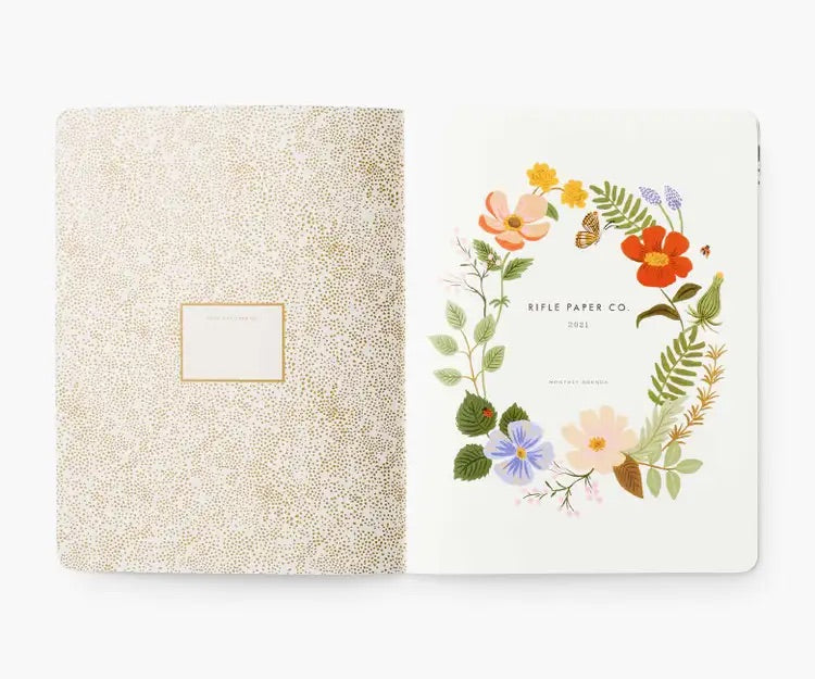 rifle paper co. 2021 appointment notebook - Piper & Chloe