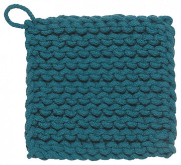 parker potholder in blue - Piper & Chloe