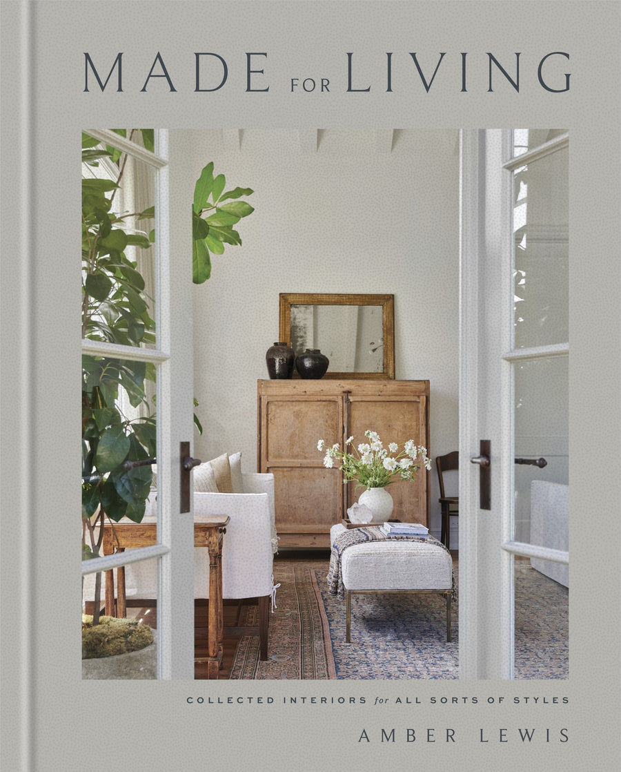 Made For Living Amber Lewis Eclectic Trendsetting Picture and Design How-To Book | Piper & Chloe