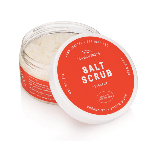 seaberry salt scrub - Piper & Chloe