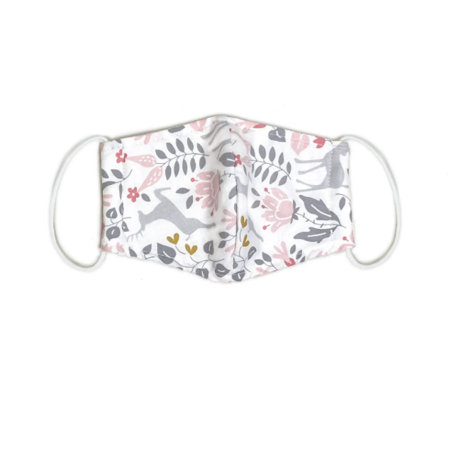 kids organic cotton face mask - Piper & Chloe
