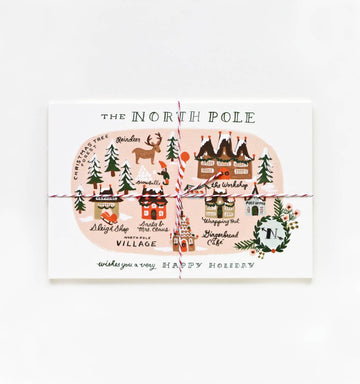 postcards - north pole - Piper & Chloe
