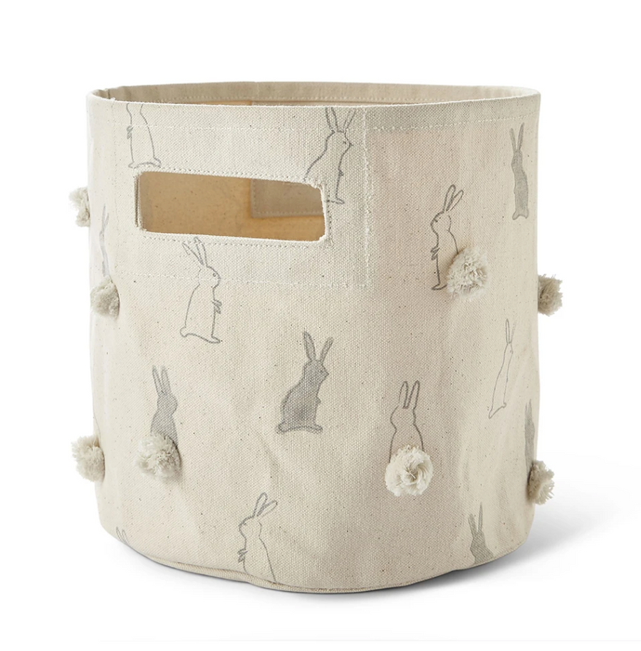 pehr canvas storage mini in bunny hop - Piper & Chloe