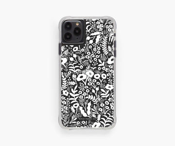 iphone case in clear tapestry lace - Piper & Chloe