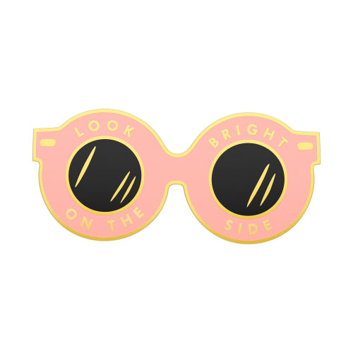 enamel sunglasses pin