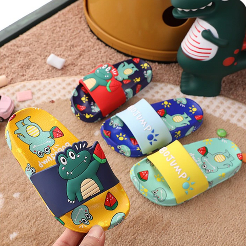 3D Frog Slippers