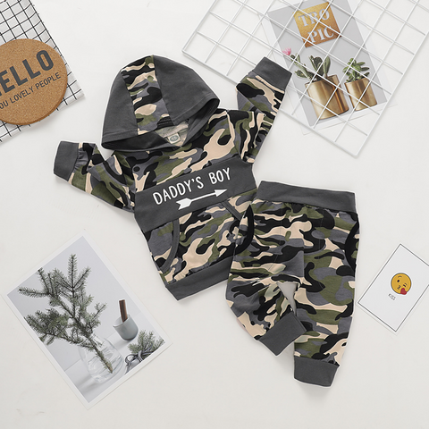 Army Hooded Set