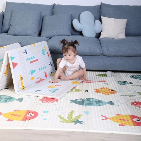 Foldable Children's Playing Mat