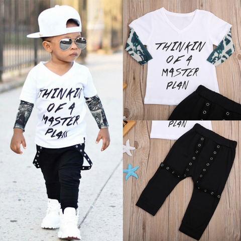 Rocker Top and Pants with Suspender Set