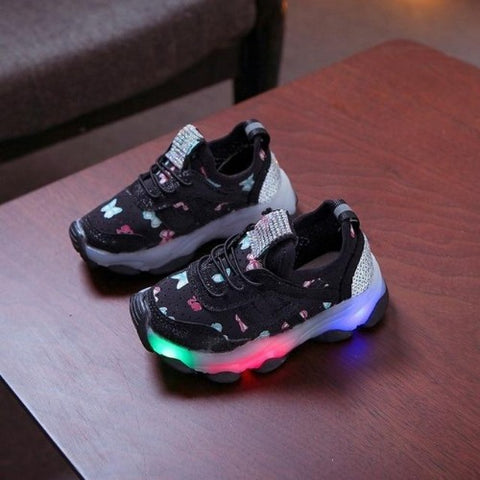 Butterfly Led Luminous Shoes