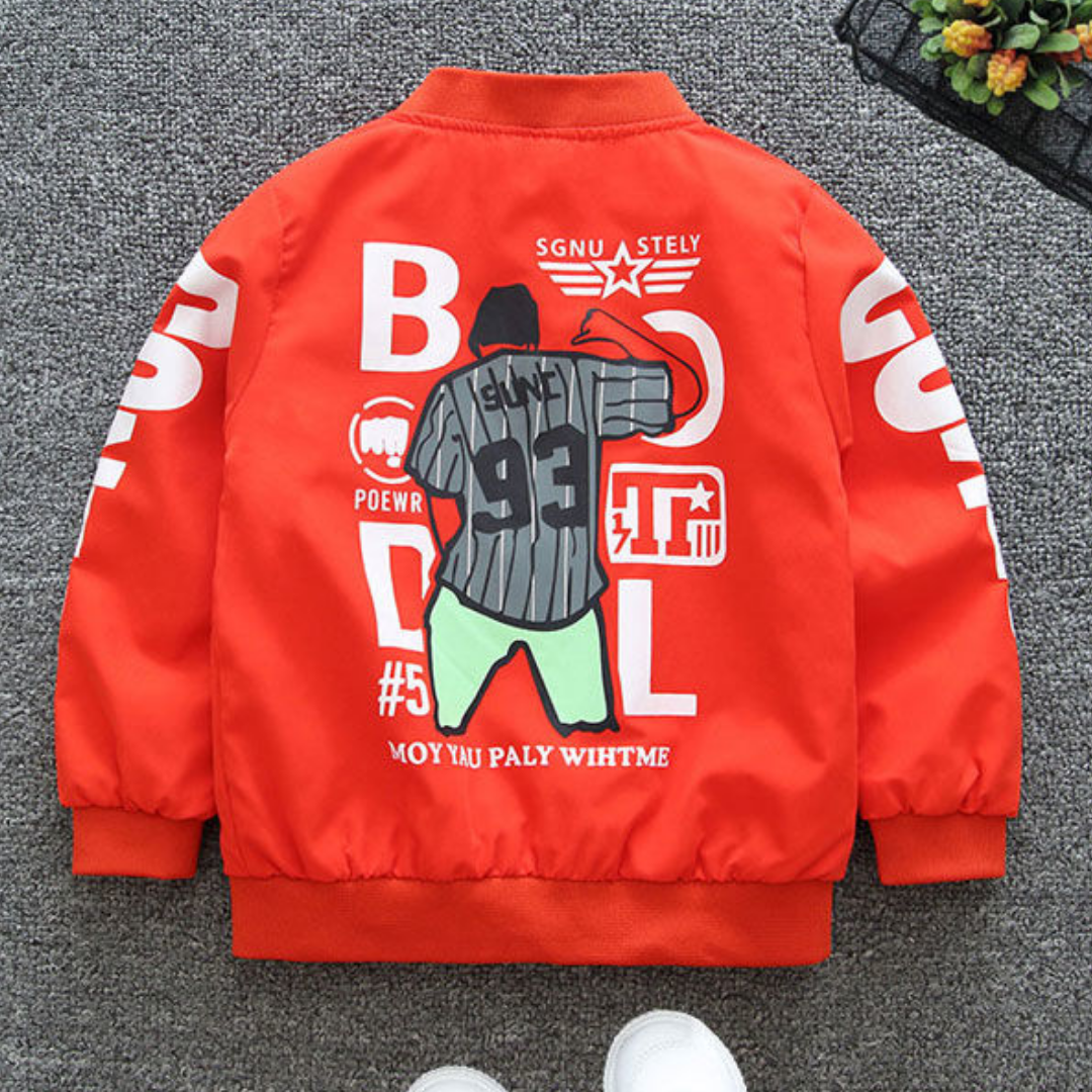 Contra Letter Jacket