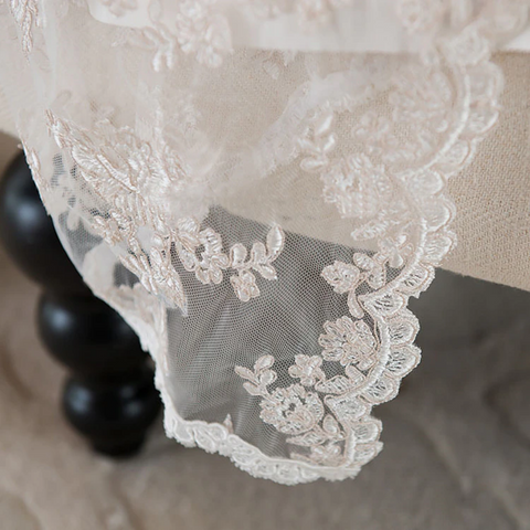 Vintage Long Christening Baby Gown