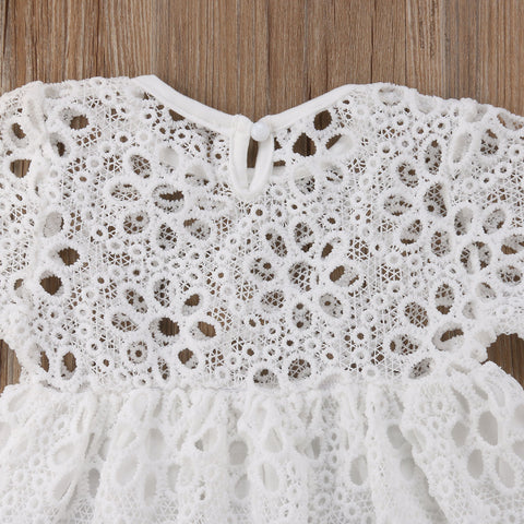 Summer Floral Lace Mom & Me Dress