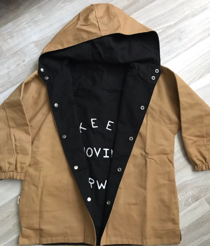 Dual-Side Trench Coat