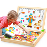 Double-Sided Magnetic Educational Board