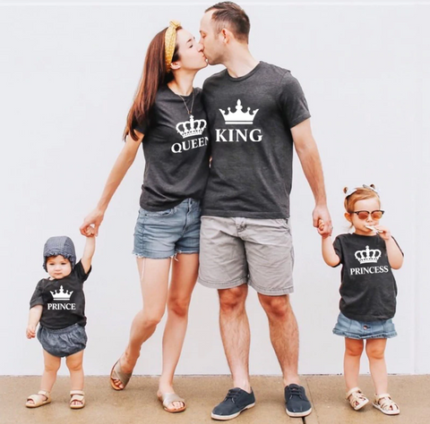 Family Royalty Matching Outfits